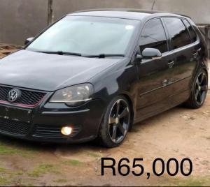 2008 VW Polo 1.6 R65,000