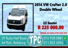 2014 Volkswagen Crafter 2.0 Double Wheel - For Sale at TPC